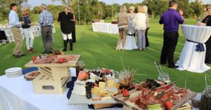 social golf club events