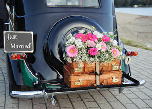 reuse items in your wedding